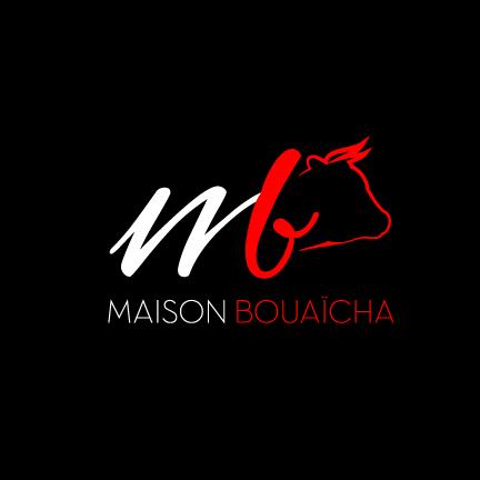 Maison bouaïcha logo, fait par AGENCE DE COMMUNICATION & PUBLICITE HL communication