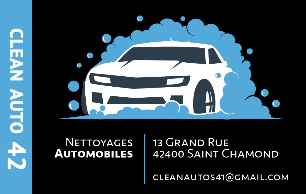 clean Auto face, fait par AGENCE DE COMMUNICATION & PUBLICITE HL communication
